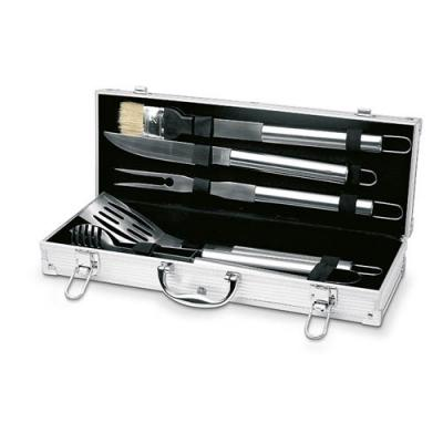 Image of 5 Bbq Tools In Aluminium Case