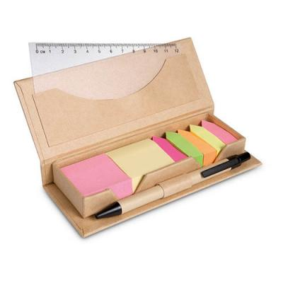 Image of Desk set in brown paper box