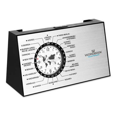 Image of Spinning World Time Clock
