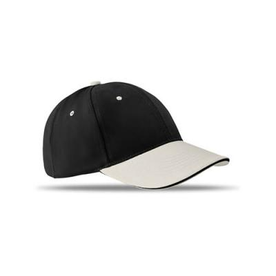 Image of 6 panels baseball cap brushed