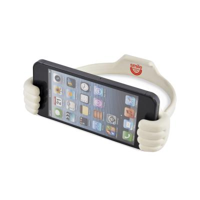 Image of Thumbs Up White Smartphone And Tablet Holder