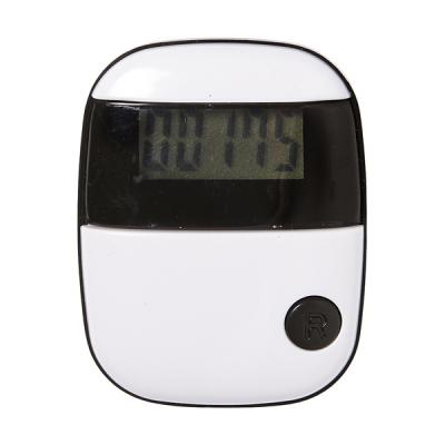 Image of Plastic pedometer with a step counter.