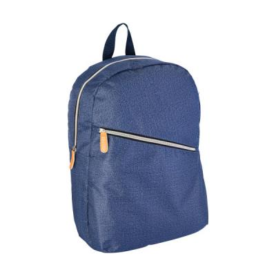 Image of Polyester laptop backpack in denim look