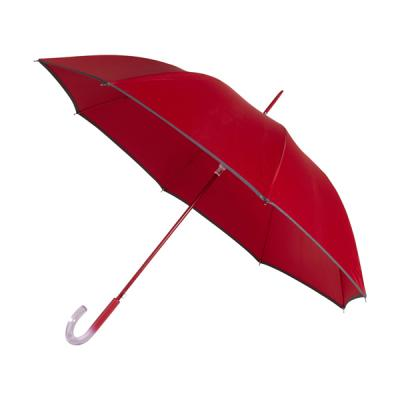 Image of Automatic pongee (190T) storm proof umbrella.