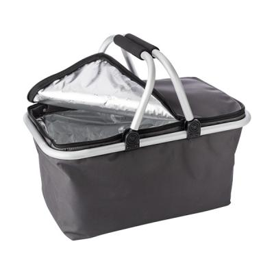 Image of Polyester (320-330) foldable shopping basket