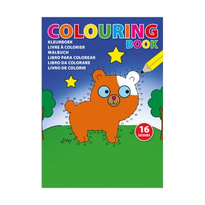 Image of A5 Colouring book with 16 different 'join the dots' designs on 250gsm paper