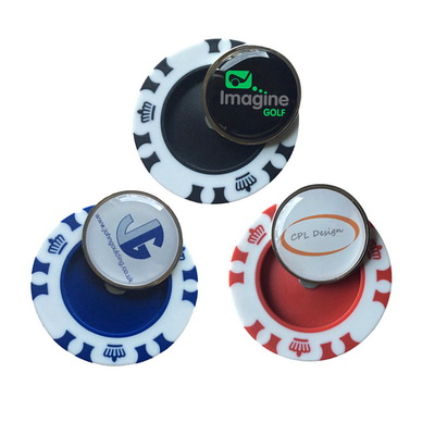 Image of Crown Poker Chip Marker