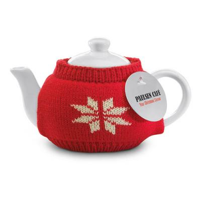 Image of Tea Pot With Jersey Cover
