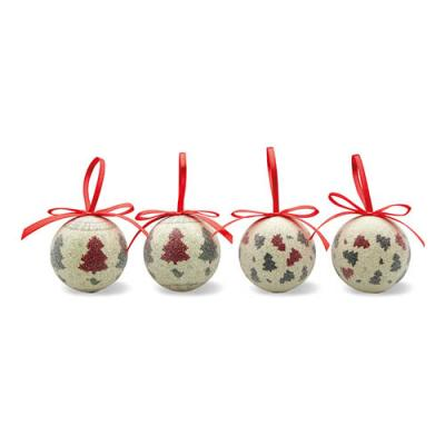 Image of 4 Pc Xmas Bauble Set
