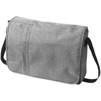 Image of Heathered 15.6'' Computer Messenger Bag