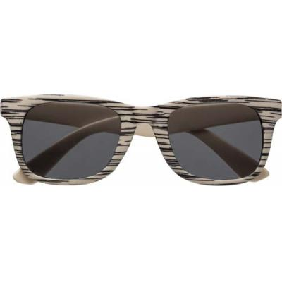 Image of Sunglasses with wood effect