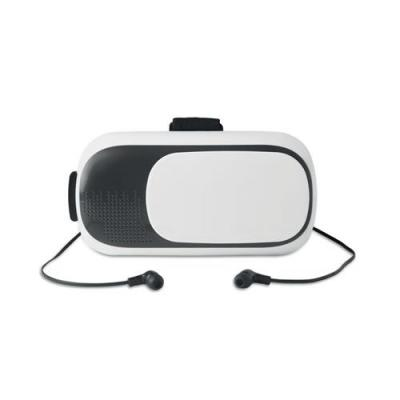 Image of VR glasses with earphones