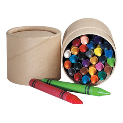 Image of Wax Crayon Tub