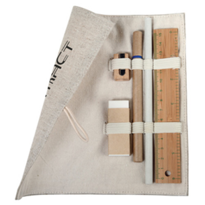 Image of Bamboo Stationary Set