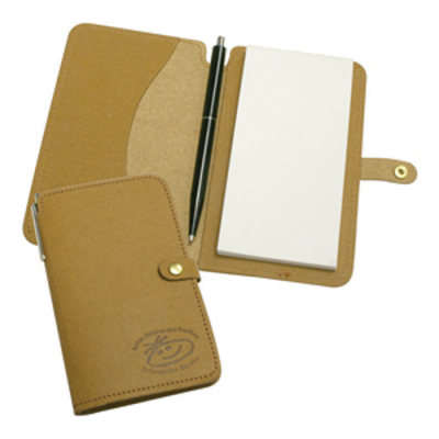Image of Eco Natural Leather Jotter Pad