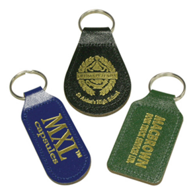 Image of Eco Colour Leather Key Ring