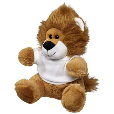 Image of Plush Lion with Shirt
