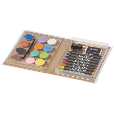 Image of Piza Colouring Set