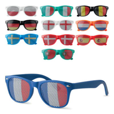 Image of Country Flag Glasses