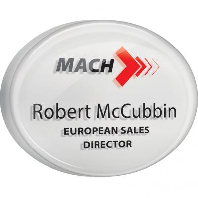 Image of Acrylic Personalised Name Badges