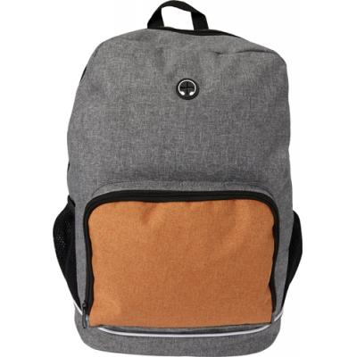 Image of Poly canvas (300D) backpack