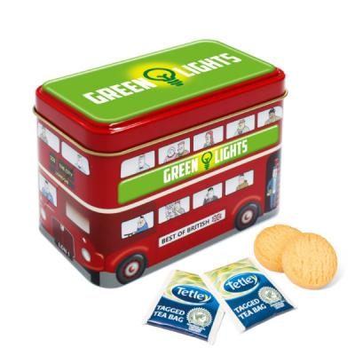 Image of Bus Tin Tea & Biscuits