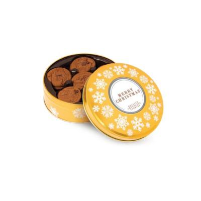 Image of Gold Share Tin Belgian Chocolate Cookies