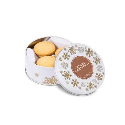 Image of Snowflake Treat Tin Buttered Shortbreads