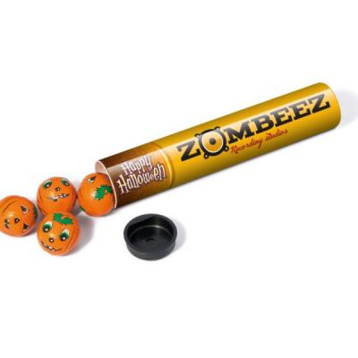 Image of Sweet Tube Halloween Foil Wrapped Chocolate Balls