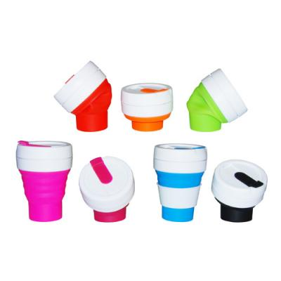 Image of Collapsible Folding Silicone Pocket Cups