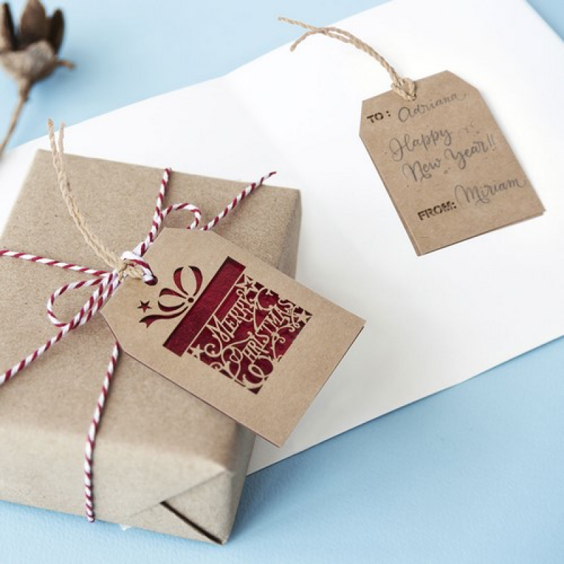 Image of Christmas Gift Tag Goslak