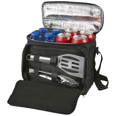 Image of Mill 2-piece bbq set with cooler bag