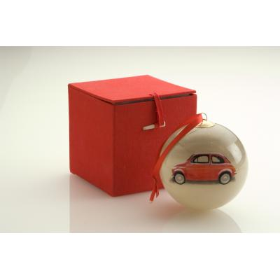 Image of 75mm Hand Painted Christmas Bauble