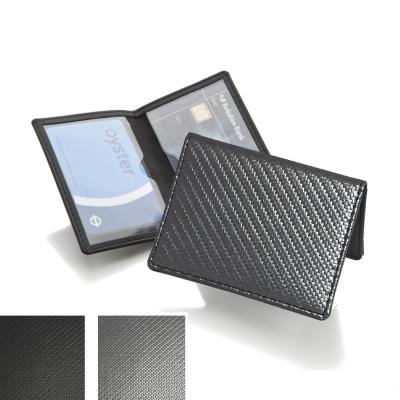Image of Carbon Fibre Effect Credit or Travel Card Case