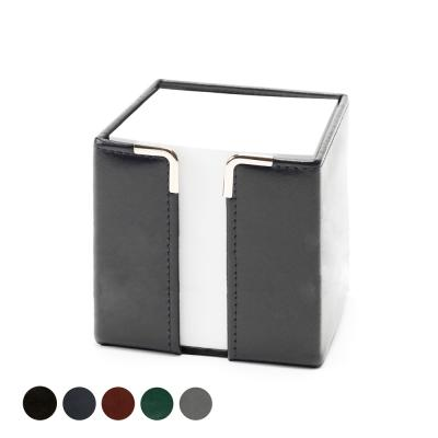 Image of Hampton Leather Tall Pad Block Holder