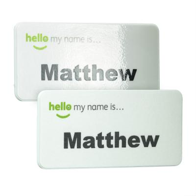Image of UK Made Eco + Antimicrobial Name Badge