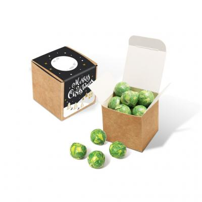 Image of Eco Kraft Cube - Chocolate Sprouts