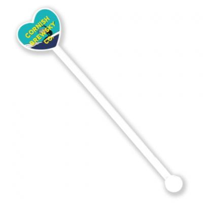 Image of Recycled Drink Stirrer Heart